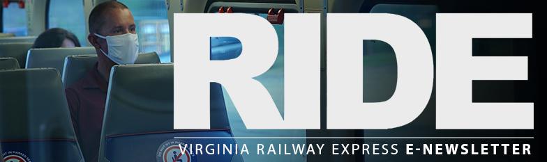 August 24 VRE RIDE Newsletter Header